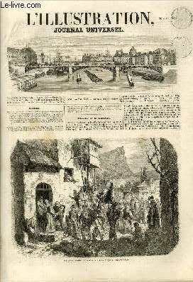 L'ILLUSTRATION JOURNAL UNIVERSEL N° 635-Histoire de la semaine. — Courrier de Paris. — ...