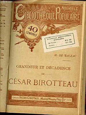POESIE ET PROSE - LA GRANDE DEMOISELLE LA BRUYERE - GRANDEUR ET DECADENCE DE CESAR BIROTTEAU - ETC....