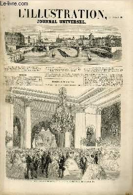 L'ILLUSTRATION JOURNAL UNIVERSEL N° 782-Histoire de la semaine. — Courrier de Paris. — L'...
