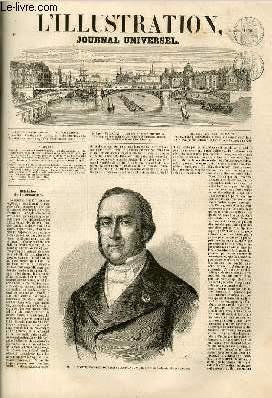 L'ILLUSTRATION JOURNAL UNIVERSEL N° 840-Histoire de la semaine.   Courrier ée Paris.   Variétés...