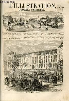 L'ILLUSTRATION JOURNAL UNIVERSEL N° 844-Histoire de la semaine. — Courrier de Paris. — ...