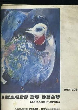 CATALOGUE DE VENTES IMAGES DU BEAU TABLEAUX MURAUX 1965 - 1966: COLLECTIF