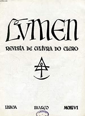LUMEN, REVISTA DE CULTURA DO CLERO, VOL.: COLLECTIF