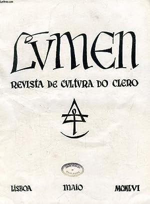LUMEN, REVISTA DE CULTURA DO CLERO, VOL.: COLLECTIF