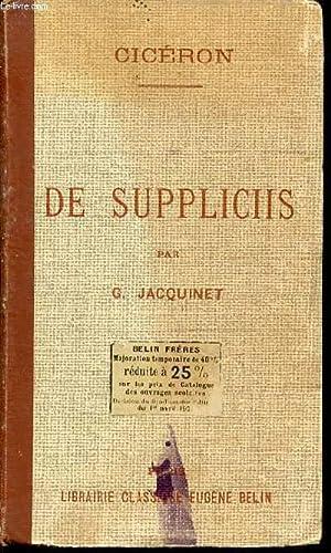 DE SUPPLICIIS - CICERON. M. TULII CICERONIS. IN. VERREM ORATIONES. ACTIO SECUNDA. LIBER V.: ...