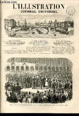 L'ILLUSTRATION JOURNAL UNIVERSEL N° 1250-Texte : Revue politique de la semaine. — Courrier...