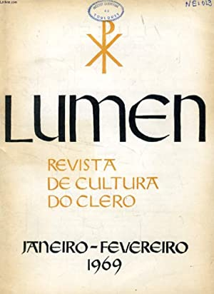 LUMEN, REVISTA DE CULTURA DO CLERO, JAN.-FEV.: COLLECTIF
