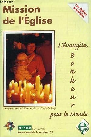 MISSION DE L'EGLISE, N° 139, AVRIL-JUIN 2003: COLLECTIF
