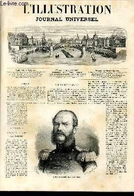 L'ILLUSTRATION JOURNAL UNIVERSEL N° 1366-Texte: Le prince: COLLECTIF