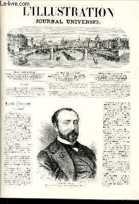 L'ILLUSTRATION JOURNAL UNIVERSEL N° 1402-Texte: Revue politique de la semaine. — M. ...