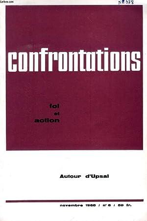 CONFRONTATIONS, FOI ET ACTION, N° 6, NOV.: COLLECTIF