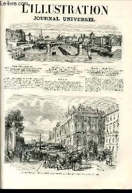 L'ILLUSTRATION JOURNAL UNIVERSEL N° 1470-Texte : Revue politique de la semaine. — Les n&...
