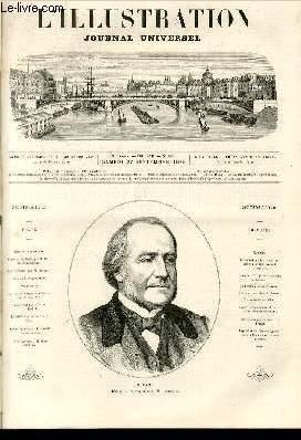 L'ILLUSTRATION JOURNAL UNIVERSEL N° 1596-Histoire de la semaine.Courrier de Paris, par M. ...