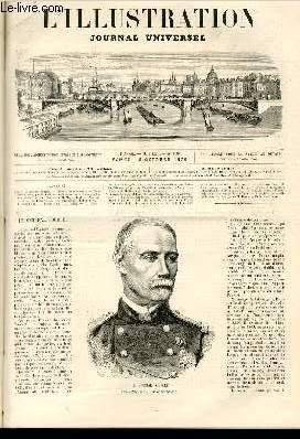 L'ILLUSTRATION JOURNAL UNIVERSEL N° 1599-Texte : Le général Pourcet. — ...