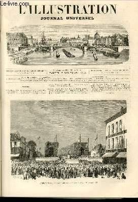 L'ILLUSTRATION JOURNAL UNIVERSEL N° 1602-Texte ; Histoire de la semaine. — Courrier de ...