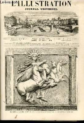 L'ILLUSTRATION JOURNAL UNIVERSEL N° 1626-Texte : Histoire Je la semaine. — Courrier de ...