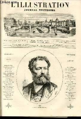 L'ILLUSTRATION JOURNAL UNIVERSEL N° 1633-Histoire de la semaine.Courrier de Paris, par M. ...