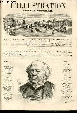 L'ILLUSTRATION JOURNAL UNIVERSEL N° 1635-Histoire de la: COLLECTIF