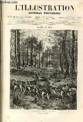 L'ILLUSTRATION JOURNAL UNIVERSEL N° 1679-Texte : Histoire de la semaine. — Courrier de ...