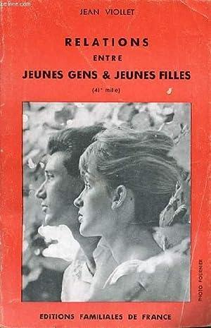 RELATIONS ENTRE JEUNES GENS & JEUNES FILLES.: VIOLLET JEAN