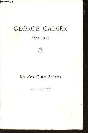 GEORGES CARDIER - 1874-1952 - UN DES CINQ FRERES: COLLECTIF