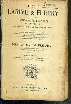 PETIT LARIVE & FLEURY - DICTIONNAIRE FRANCAIS: LARIVE & FLEURY