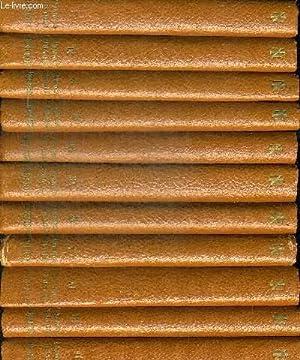 OEUVRES COMPLETES DE MOLIERE EN 11 VOLUMES. TEXTE ETABLI ET ANNOTE PAR GUSTAVE MICHAUT. DIRECTEUR ...