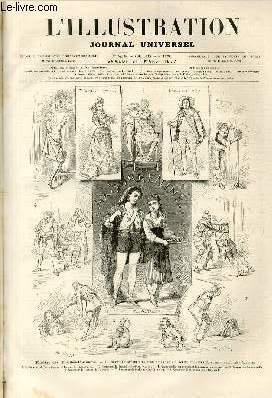 L'ILLUSTRATION JOURNAL UNIVERSEL N° 1779- Histoire de la semaine - Courrier de Paris - les...