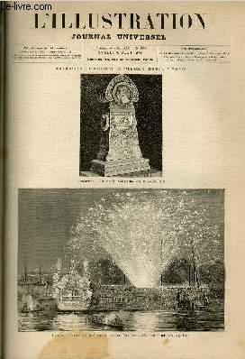 L'ILLUSTRATION JOURNAL UNIVERSEL N° 1850 - Courrier: COLLECTIF