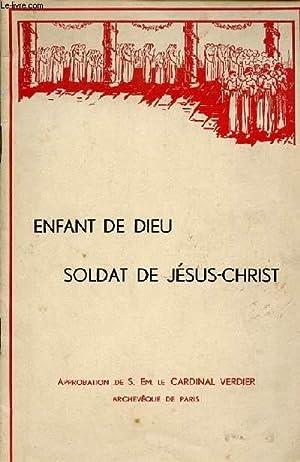 ENFANT DE DIEU, SOLDAT DE JESUS-CHRIST.: CARDINAL VERDIER