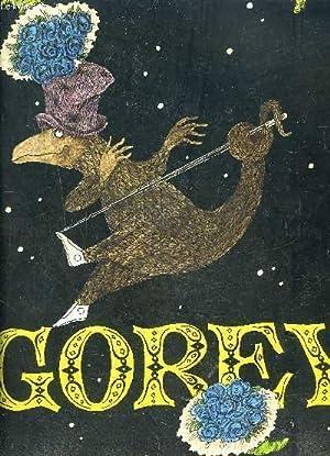 GOREY POSTERS- Texte en anglais: GOREY EDWARD