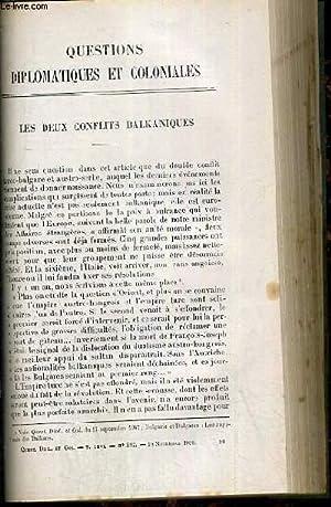 LES DEUX CONFLITS BALKANIQUES + LES SLAVES: DOROBANTZ JACQUES -