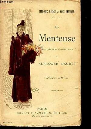 LA MENTEUSE - (PIECE).: DAUDET APLPHONSE