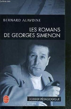 LES ROMANS DE GEORGES SIMENON - DOSSIER: ALAVOINE BERNARD