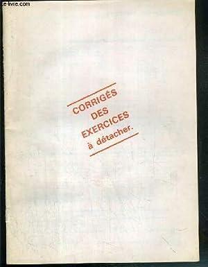 FASCICULE - CORRIGES DES EXERCICES A DETACHER DU MAGAZINE PHOSPHORE - VENDU SEUL: COLLECTIF