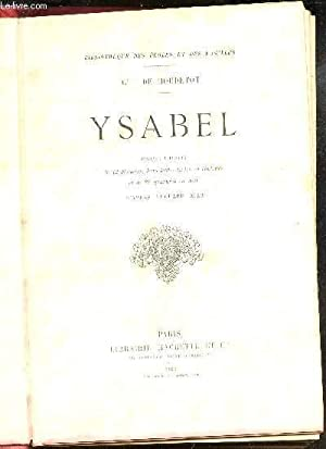 YSABEL / BIBLIOTHEQUE DES ECOLES ET DES FAMILLES.: DE BOUDETOT (COMTESSE)