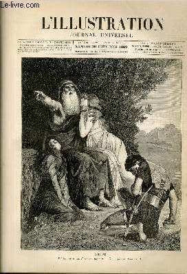 "L'ILLUSTRATION JOURNAL UNIVERSEL N° 2121-Gravures : ""Oedipe"" tableau de A. M. ..."