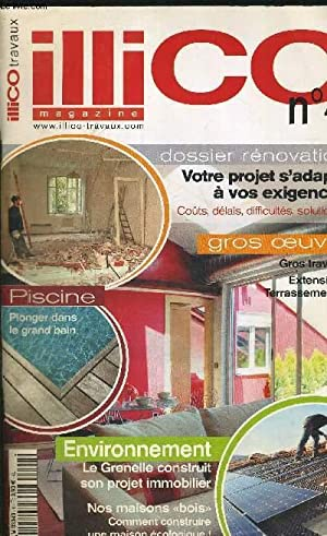 ILLICO MAGAZINE N4 TRAVAUX DOSSIER RENOVATION COLLECTIF