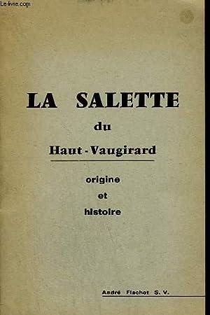 LA SALETTE DU HAUT VAUGIRARD ORIGINE ET: COLLECTIF