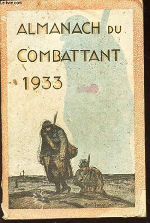 ALMANACH DU COMBATTANT - 1933 /Plein ciel / LA C.I.A.M.A.C. / Jean Thebaud / ...