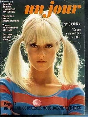 UN JOUR - N°5 - 1969 - SYLVIE VARTAN, CE QUE JE N'ARRIVE PAS A OUBLIER: COLLECTIF