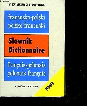 NOWY SLOWNIK - FRANCUSKO-POLSKI - POLSKO-FRANCUSKI: KWIATKOSKI WLADYSLAW - SOBCZYNSKI KRZYSZTOF