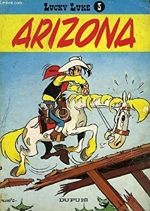 LUCKY LUKE, N° 3, ARIZONA: MORRIS