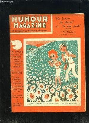 HUMOUR MAGAZINE- N°28- AOUT 1952- LE CONDENSE DE L HUMOUR FRANCAIS- Farinole- Harvec- Forain ...
