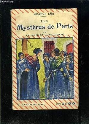 LES MYSTERES DE PARIS TOME IV- LA: SUE EUGENE