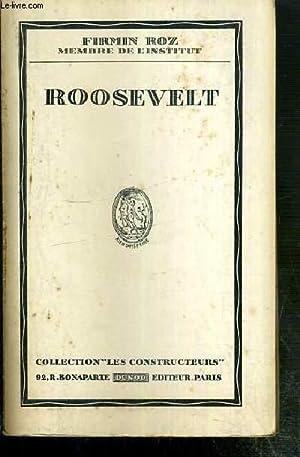"""ROOSEVELT / COLLECTION """"LES CONSTRUCTEURS"""": ROZ FIRMIN"""