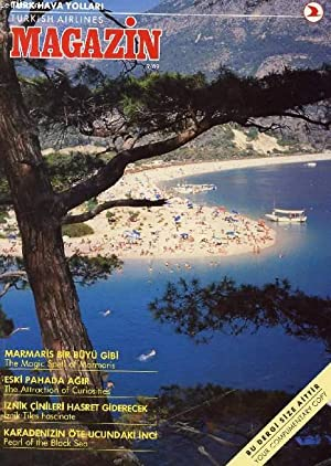 TURKISH AIRLINES MAGAZINE (MAGAZIN), 9/89 (Contents: The: COLLECTIF