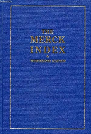 THE MERCK INDEX, AN ENCYCLOPEDIA OF CHEMICALS,: COLLECTIF
