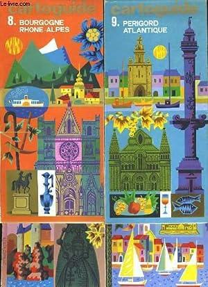 CARTO GUIDE. 15 CARTES EN COULEURS: NORD, BRETAGNE, NORMANDIE, ILE-DE-FRANCE, RHIN-MEUSE, ...