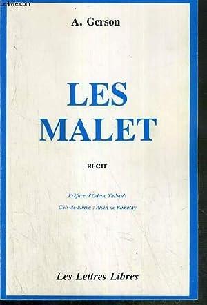 LES MALET - RECIT: GERSON A.